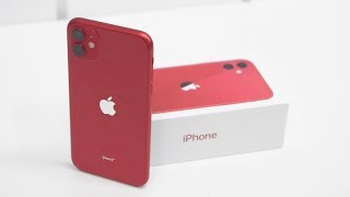 iPhone 11 Unboxing & Overview Product RED (Indian Retail Unit)