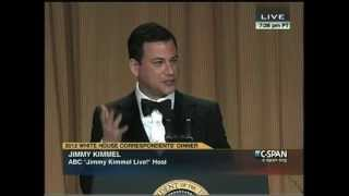 Jimmy Kimmel Roasting at the 2012 White House Correspondents
