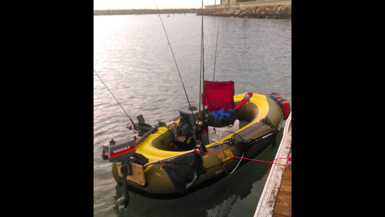 Sevylor Fish Hunter Hf360 Customized With Mariner 2hp