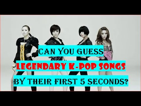 Guess the LEGENDARY K-pop song