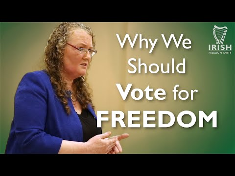 Why Ireland Should Vote for Freedom - Dolores Cahill | IFP Tipperary Cumann Meeting