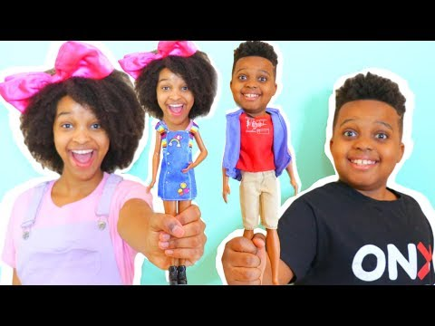 Shiloh and Shasha TURN INTO TOYS!?  Onyx Kids