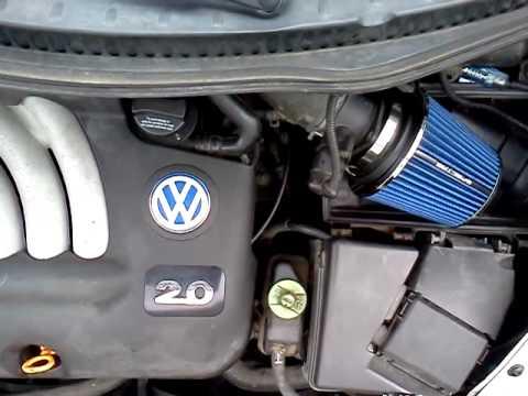 2001 volkswagen beetle air intake. - YouTube