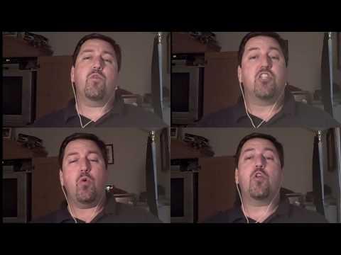 Beautiful Savior Barbershop Song - Multitrack HD