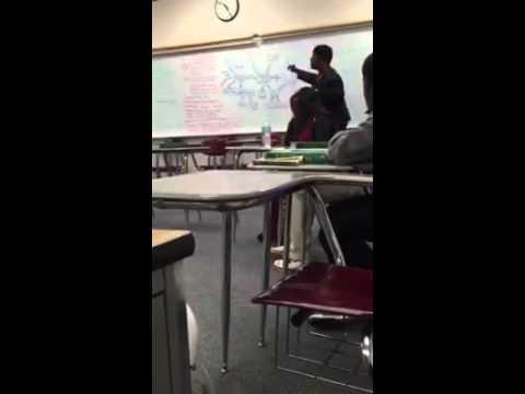 Ms. Barnett Teaching ShakeSpeare