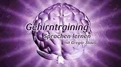Gehirntraining mit Gregor Staub: Sprachen lernen