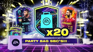 20 x FUTURE STAR PARTY BAG PACKS!!! FIFA 21