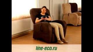 Кресло реклайнер от компании Эколайн(, 2015-04-06T09:46:02.000Z)
