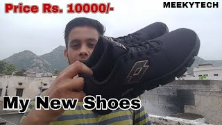 VLOG #6 | MY NEW SHOES RS. 10000? | MEEKY TECH