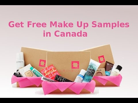 Get Free Make Up Samples in Canada - YouTube