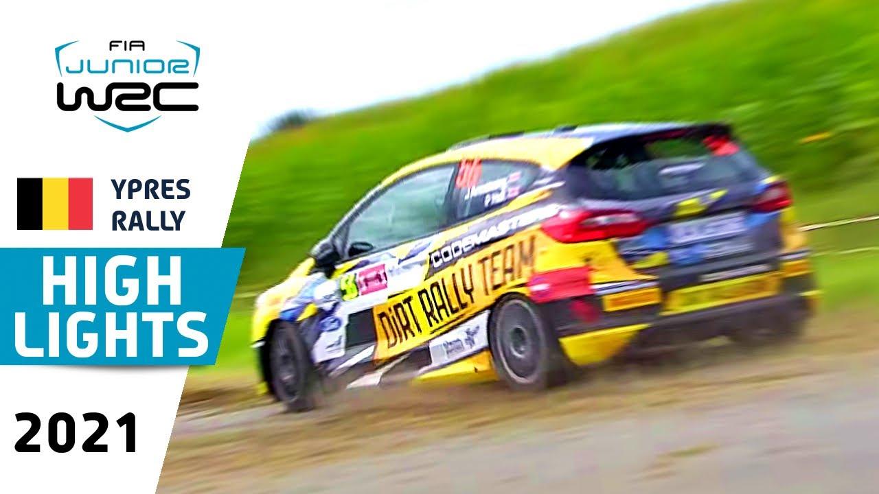 Renties Ypres Rally Belgium 2021 : Junior WRC HIGHLIGHTS Day 1