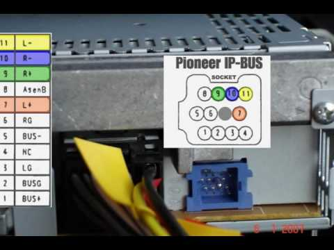 hqdefault pioneer car audio ip bus pinuot youtube ip bus wiring diagram at edmiracle.co