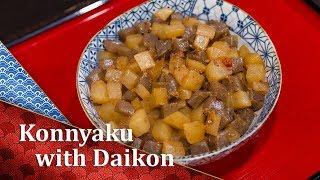Konnyaku Daikon - a Cooking Japanese recipe