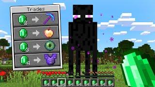 Paso Minecraft pero Todos los Mobs Tradean