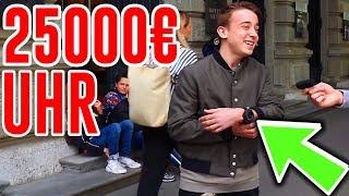 Gönnung: 25000 EURO HUBLOT UHR! Wie viel ist dein Outfit wert? - Reaction | CringeTube #1