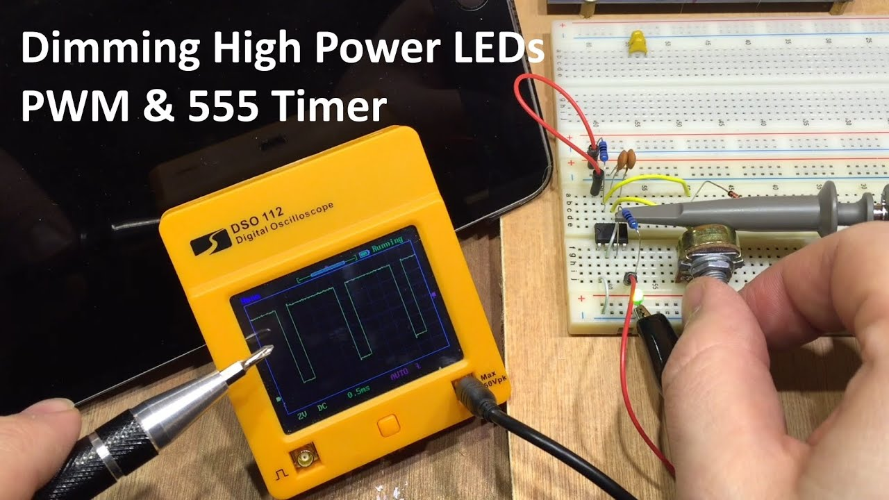 Ne555 Controlled Pwm Led Dimmer Circuit V Good Ccts T 555 Timer In Monostable Mode Diagram Electronicshuborg Make A Simple Night Light Using Http