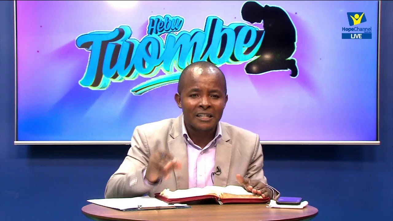 #LIVE : HEBU TUOMBE - 22ND JULY 2021