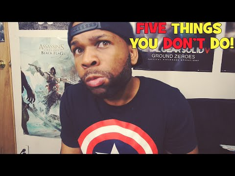 5 Types of Things You Shouldn't Do - Vlog - #NCF