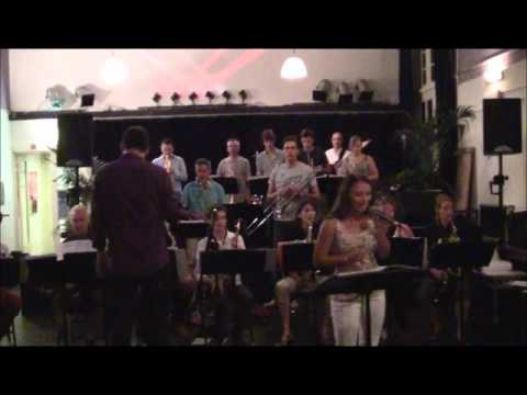 JESSICA  HANSSEN & KUMULUS BIG BAND  -  A NIGHT LIKE THIS