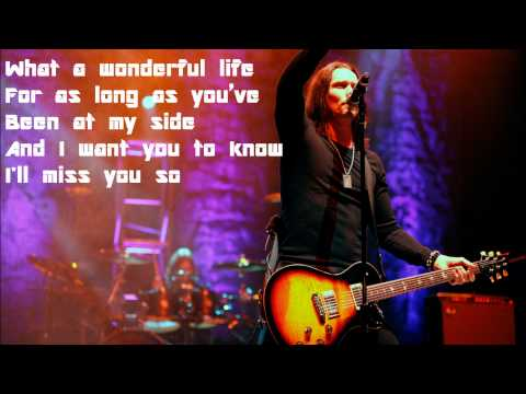 Wonderful Life by Alter Bridge Lyrics