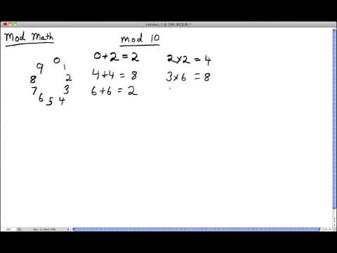 Lecture on Modulo Arithmetic Part 1