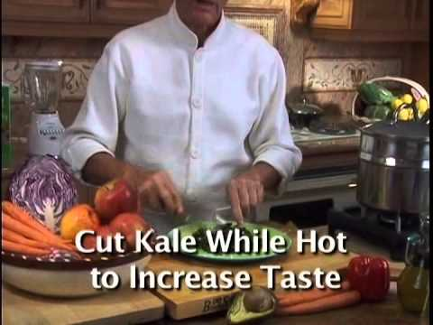 How to Cook Kale for Optimum Health by George Mateljan