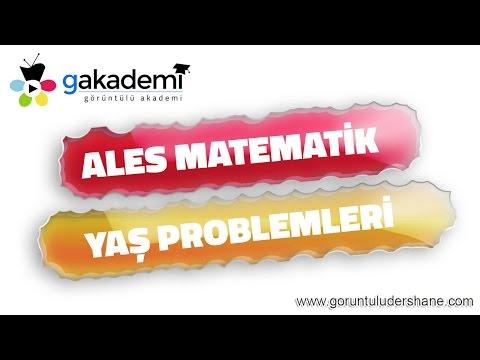 ALES Matematik Yaş Problemleri