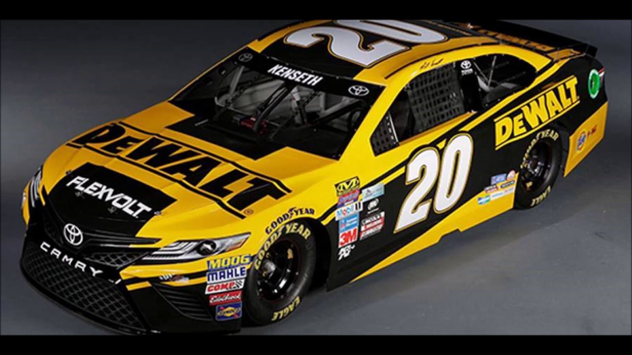 2017 Monster Energy NASCAR Cup Series Paint Schemes Part #2 - YouTube