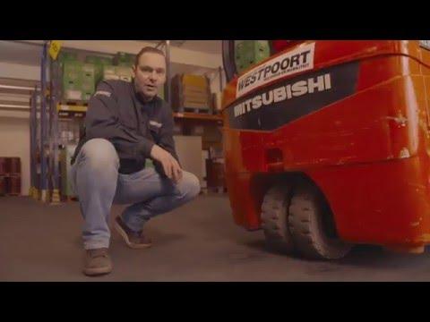 Westpoort heftruck/reachtruck cursus Deel 3