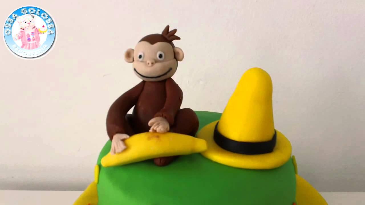 Torta de vainilla de Jorge el Curioso - George the curious