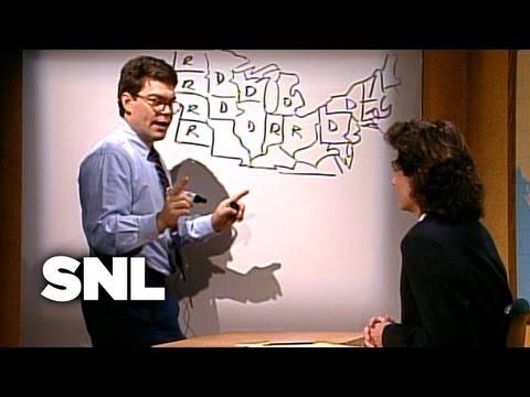 Al Franken's Electoral Map - Saturday Night Live