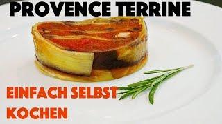 Kochen Rezept   Frankreich Provence   Gemüseterrine   vegan
