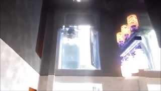 Lackfolie Немецкий Черный Глянцевый Натяжной потолок на Кухне(Lackfolie Немецкий Черный Глянцевый Натяжной потолок на Кухне., 2016-04-19T21:58:05.000Z)