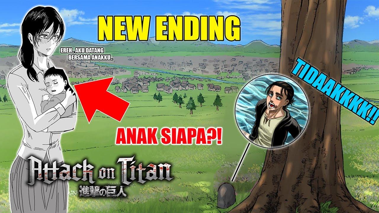 Kena Mental.!! Akhirnya Mikasa Punya Anak! Tapi Bukan Ereh..| Penjelasan Chapter Tambahan Ending AOT