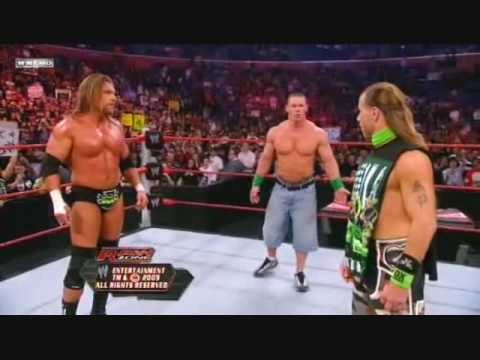 WWE RAW 10/26/2009: Big Show Vs Triple H (No Disqualification Lumberjack Match) 2/2