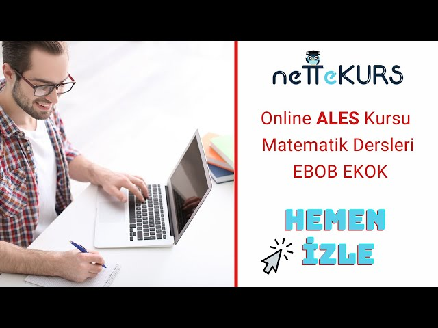 ALES Sayısal - Matematik - OBEB OKEK / nettekurs.com - Uzaktan Eğitim Dershanesi