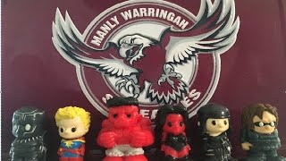 MARVEL OOSHIES WOOLWORTH EXCLUSIVE