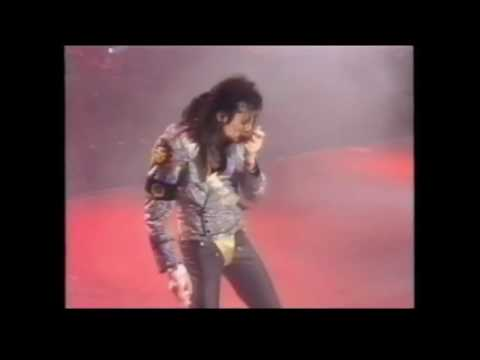 Michael Jackson - Jam - Live in Copenhagen 1992 (From News Report Snippet)
