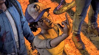 Conrad Brings Captive Clementine to New Frontier (Walking Dead | Telltale Games)
