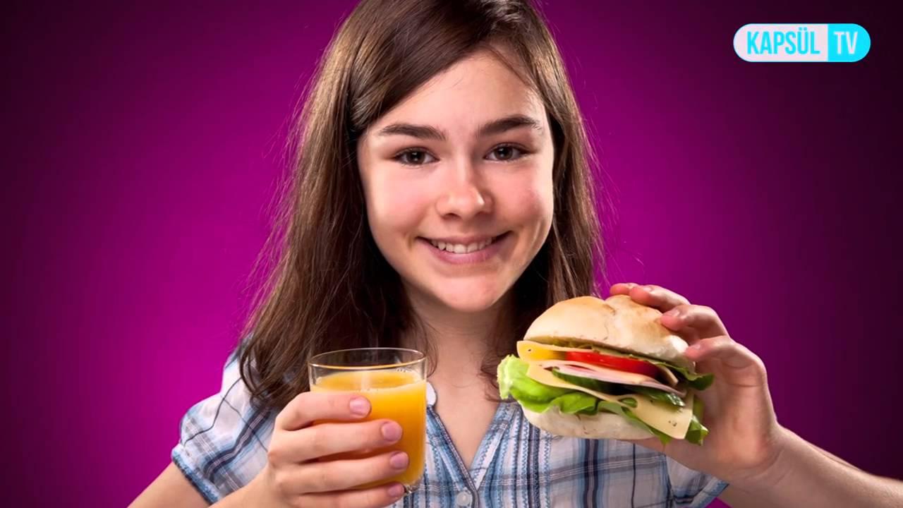 Ergenlik döneminde nasıl beslenilmeli