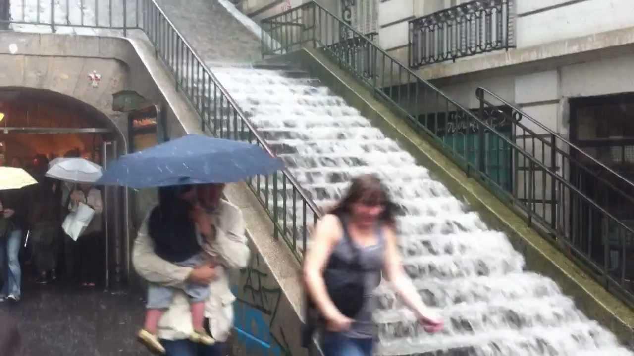 Inondation 192 Paris Les Marches De Montmartre Transform 201 Es