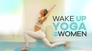 Beginner Morning Yoga for Women | 10-Min | Energizing Wake Up Vinyasa Flow