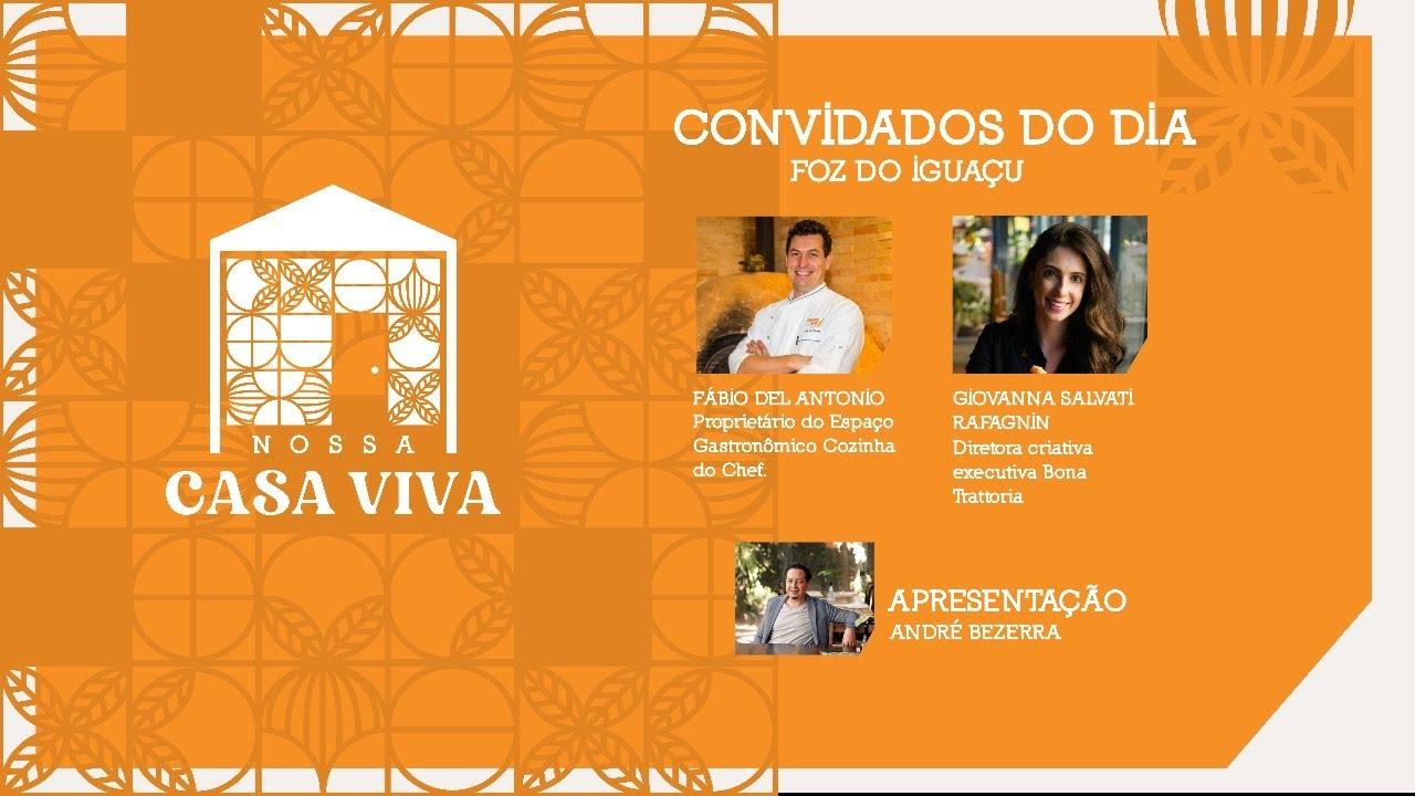 Nossa Casa Viva - Giovanna Salvatti Rafagnin e Fabio Del Antonio – Foz do Iguaçu