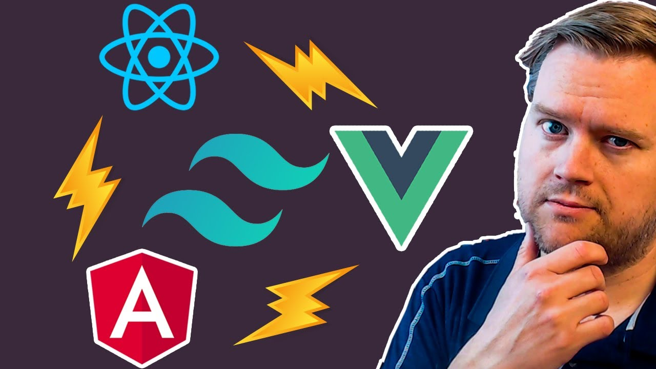 How To Install Tailwind CSS On React, Vue and Angular! | Learn How To Install Tailwind CSS !