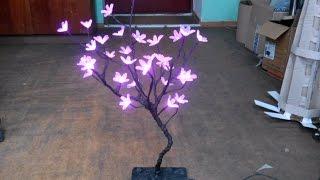 светодиодный цветок как сделать