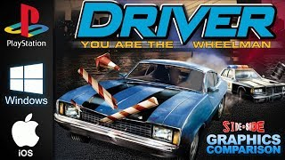 Driver You are the Wheelman | Side by Side | PSOne PC iOS GBC