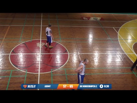09.02.2019. НБА 1/4  Азофт - БК Новосибирск-2