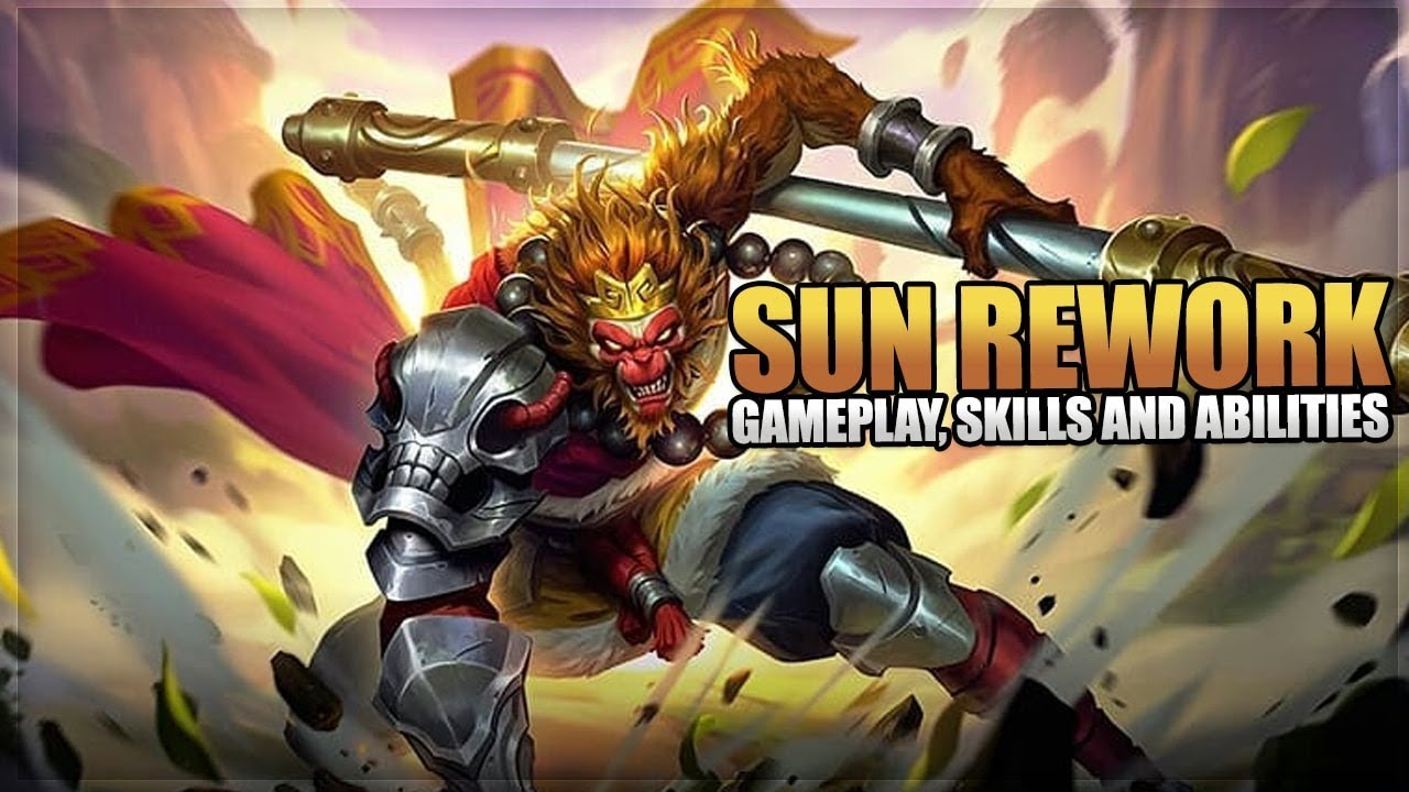 NEW SUN REWORK GAMEPLAY SKILLS AND ABILITIES MOBILE LEGENDS