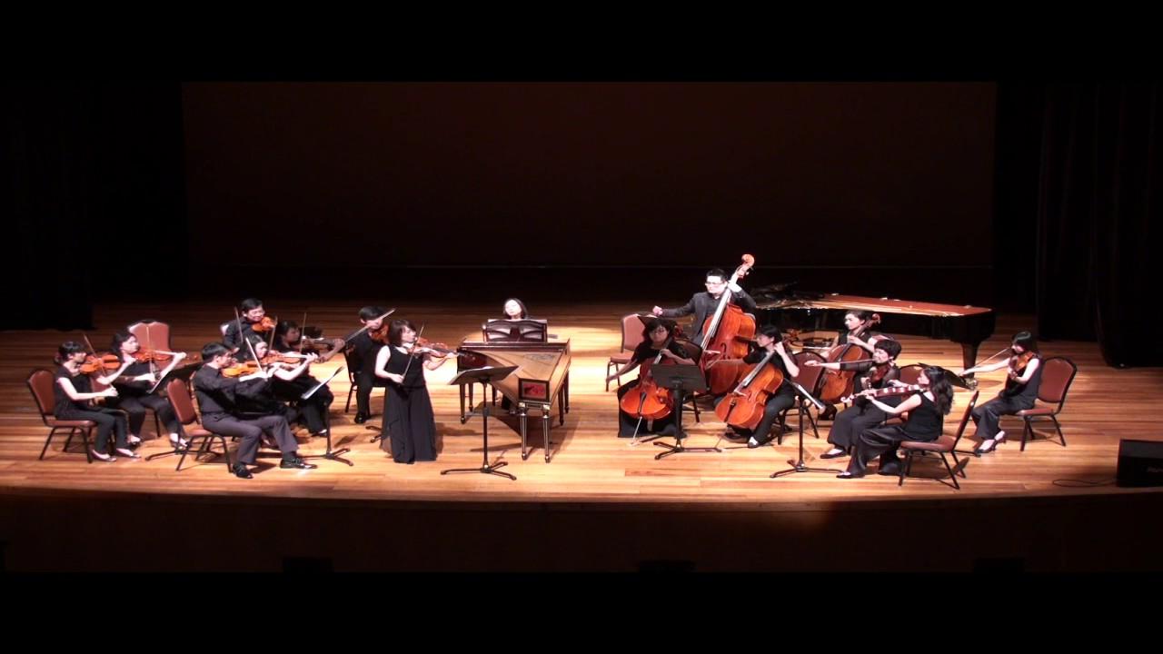 韋瓦第 《四季》A Vivaldi The Four Seasons G小調小提琴協奏曲〈夏〉,作品第八號第二首,編號315 - YouTube