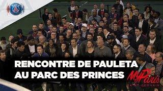 Les fans MyParis rencontrent Pauleta au Parc des Princes